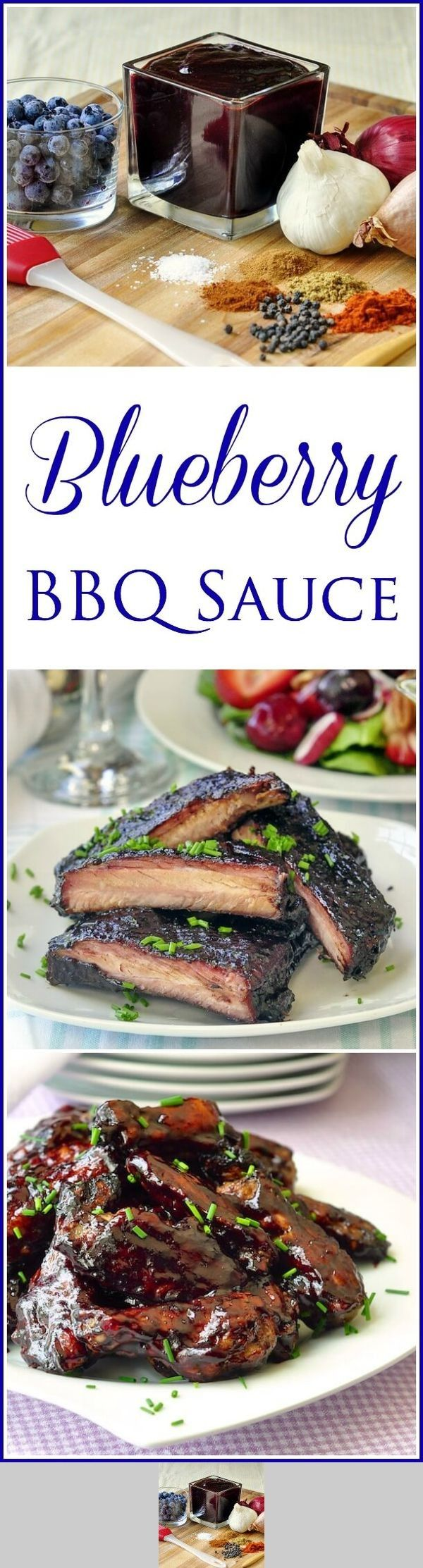Blueberry Barbecue Sauce
