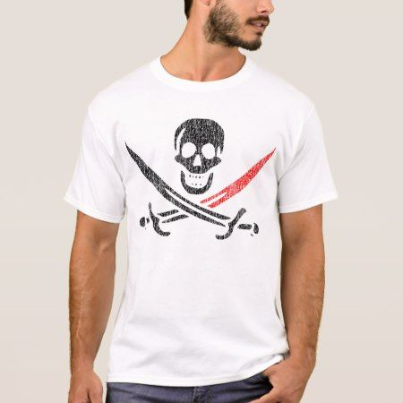 Jolly Roger BloodTip Vintage Blackbeard T-Shirt - click to get yours right now!