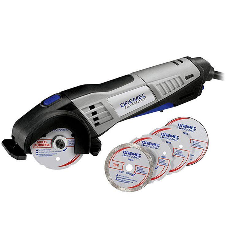 Ferramenta Rotativa Dremel Saw Saw-Max 710W + 4 Discos de Corte DREMEL é na Palácio das Ferramentas