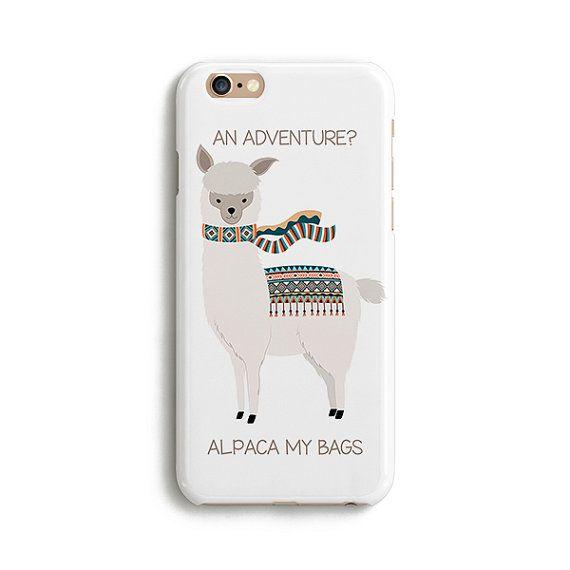 An alpaca adventure  iPhone 7 Plus case Samsung by Catsicorn