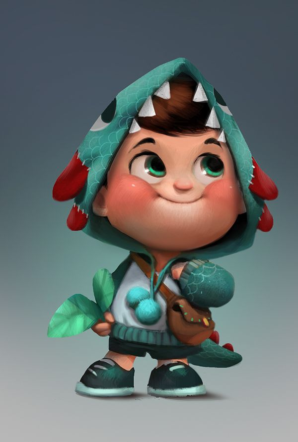 Cartoon Character Design Process : Character design and development process for hisense