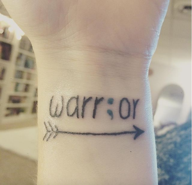 People are getting these semicolon tattoos as a symbol of hope in ...