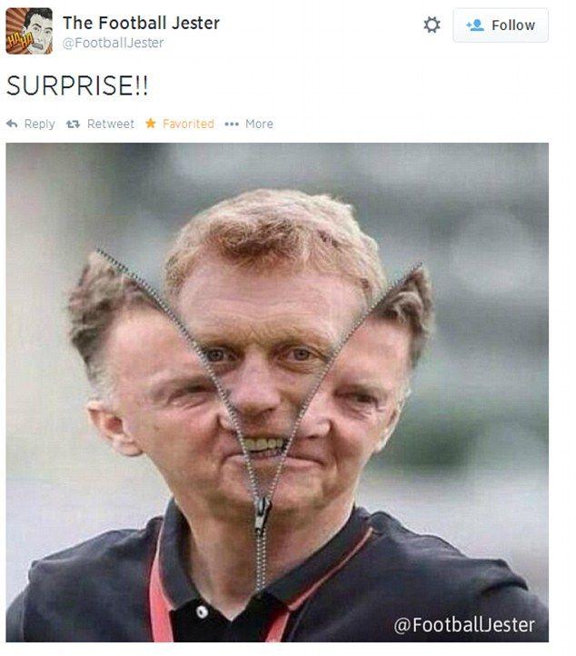 Man United virals: Thrashing leads to loads of internet jokes #dailymail