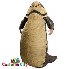 Adult Mens Inflatable Jabba the Hutt Star Wars Fancy Dress Party Costume