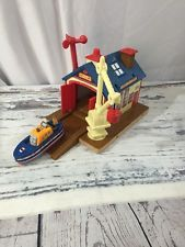 Rare! Thomas and Friends Wooden Railway -- Captain's Boathouse Shed EUC in Toys & Hobbies, TV, Movie & Character Toys, Thomas the Tank Engine, Games, Toys & Train Sets, Accessories | eBay