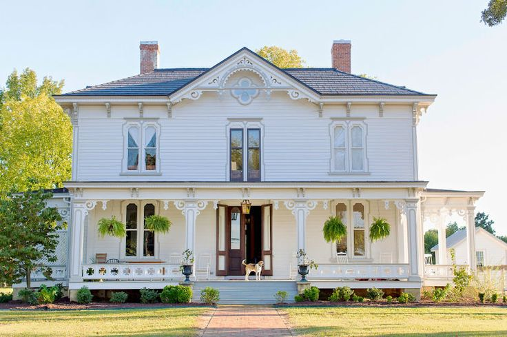 Murfreesboro, NC - c. 1875; 5-bedrooms; exquisite plasterwork and eight functional fireplaces; $499,000.