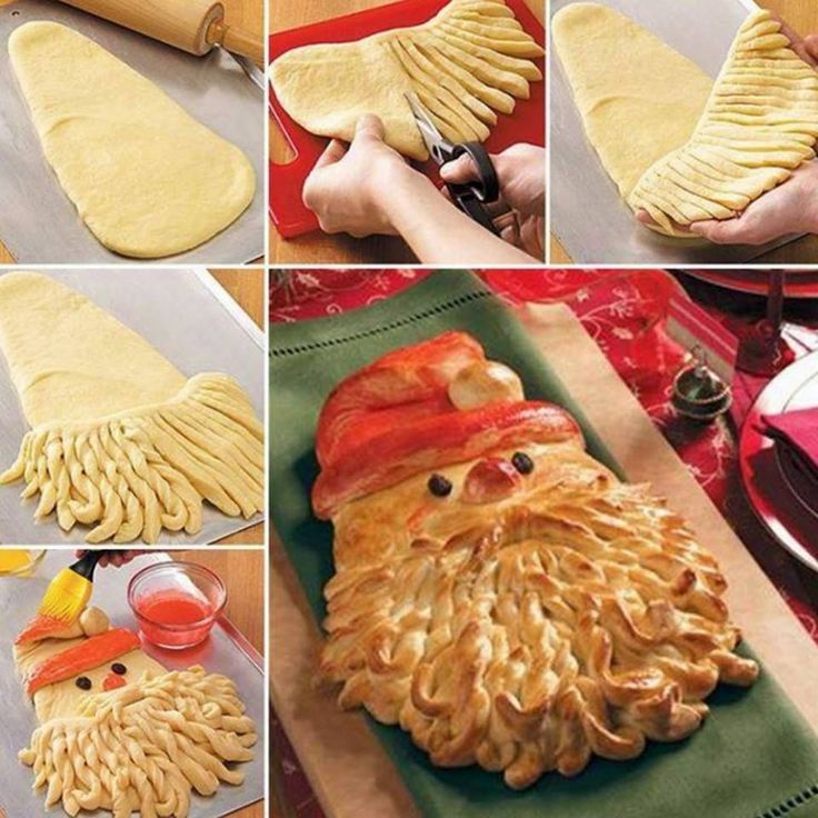 Christmas Santa Bread Recipe