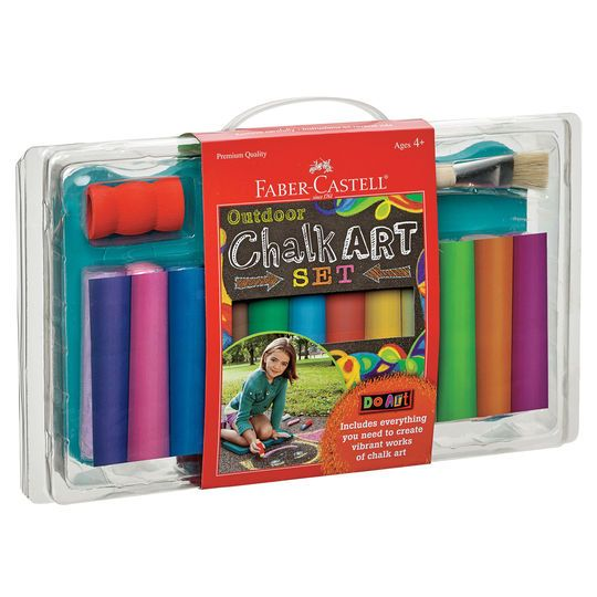 Faber-Castell Do Art Outdoor Chalk Art Set