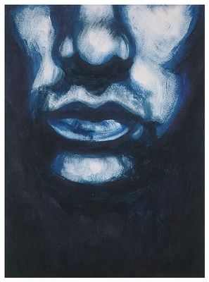 'Mister Man' in blue
