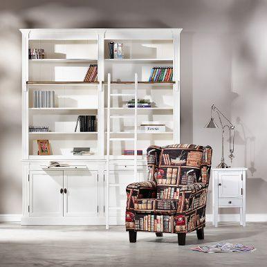LIBRARY Bücherschrank weiß - Regale & Schränke