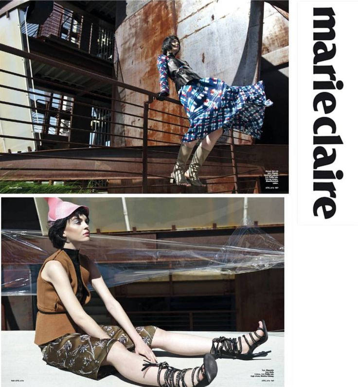 Our pink cap was featured in the April issue of @marieclaire Indonesia