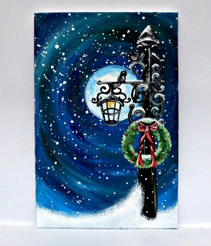 """Tablou+Tematica+Craciun+""""Christmas+Feeling"""""""