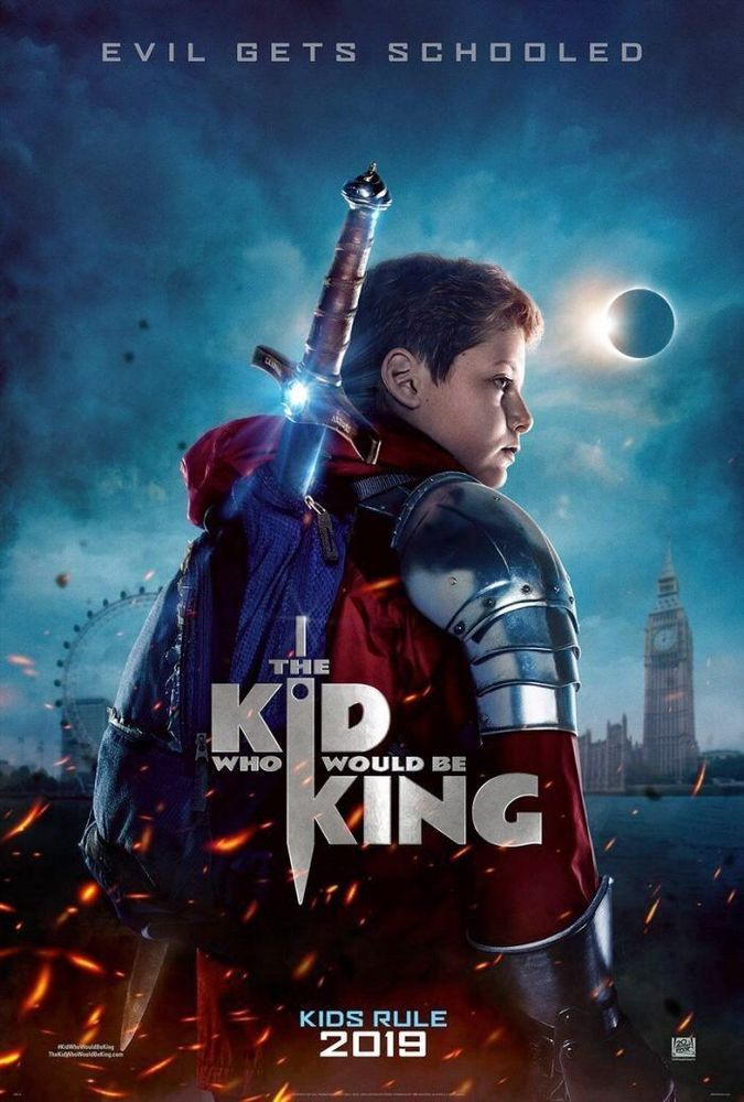 The Kid Who Would Be King 4ft X 6ft Bus Shelter D S Movie Poster Stewart New