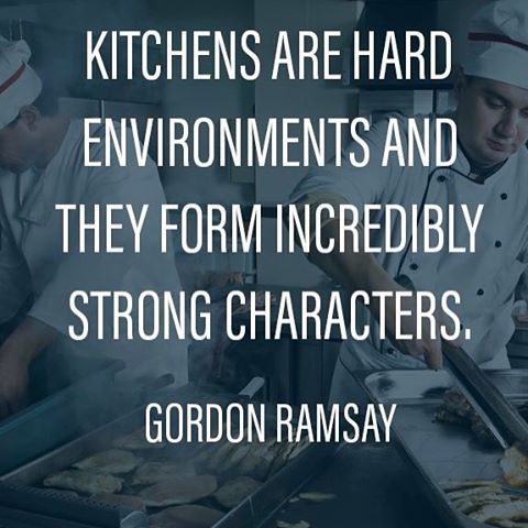 "0 Likes, 1 Comments - Wasserstrom (@thewasserstromcompany) on Instagram: ""It's a hard-knock life... #gordonramsay #quote #quotes #kitchen #chef #chefs #cook #cooks #cooking…"""