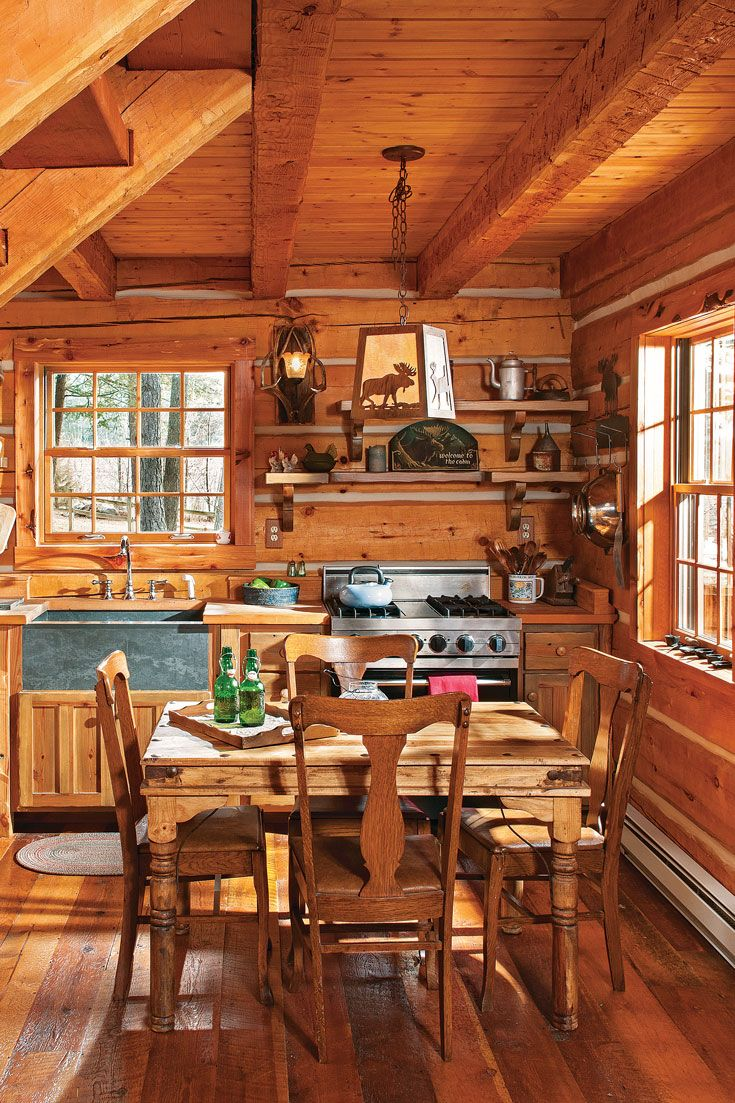 Jack Hanna's Montana Log Cabin Getaway | Log cabin remodel ...