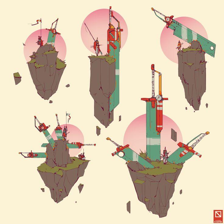 ArtStation - Guardians, Gareth Davies