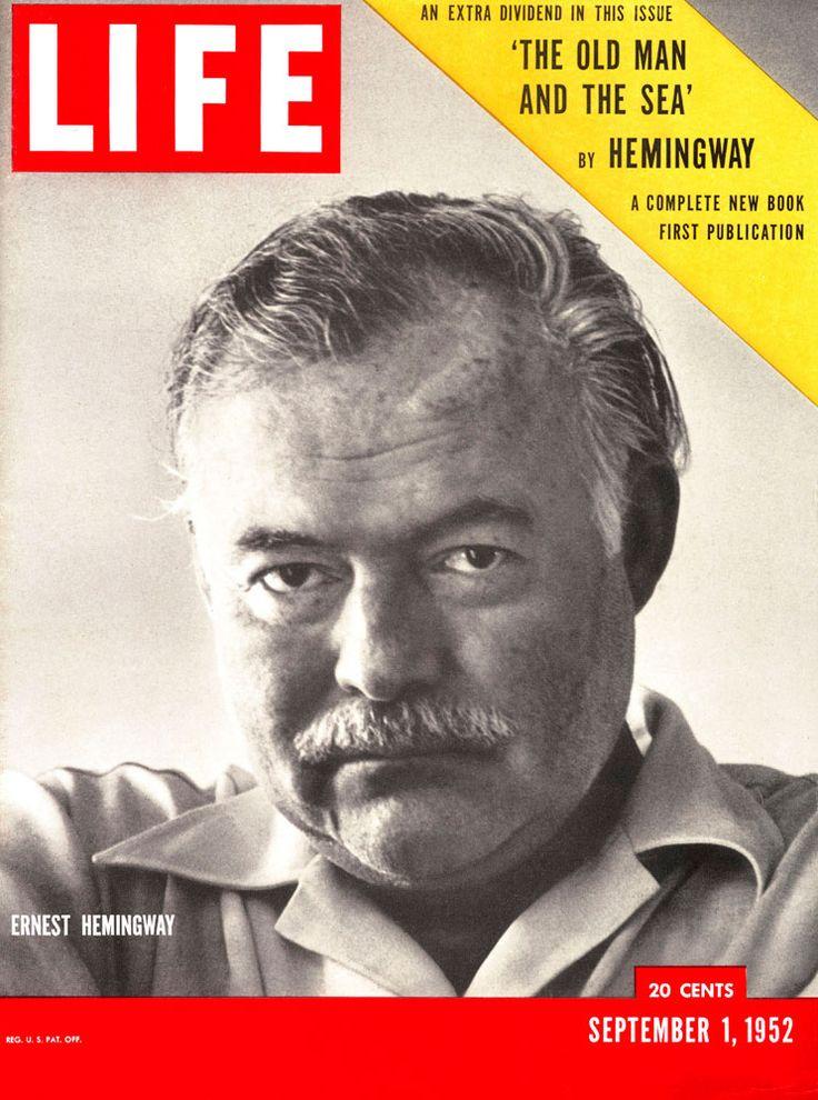 Ernest Hemingway on Life Magazine (1 September 1952)