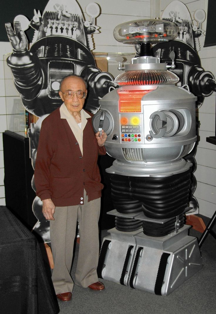 Robert Kinoshita (1914-2014) designer of B-9 and Robbie the robot.