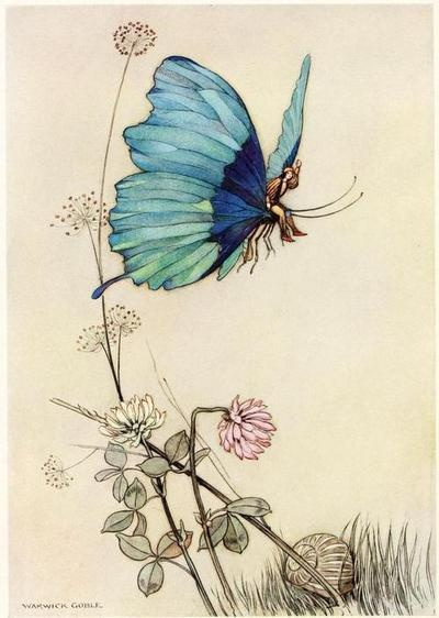 The Fairy Book, 1863Illustrations by Warwick Goble