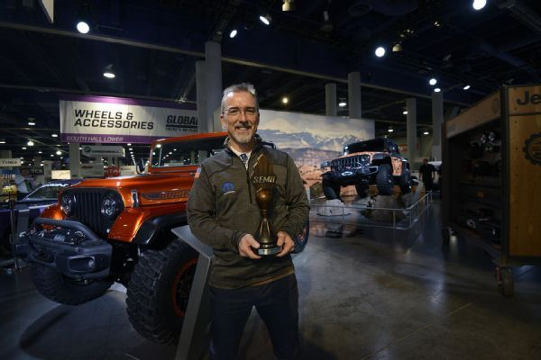 """Jeep Wrangler """"Hottest 4X4 SUV"""" at SEMA for Eighth Consecutive Year!"""