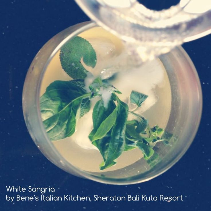 Who can resist all time favorite White Sangria? You can only get it in Bene's Italian Kitchen