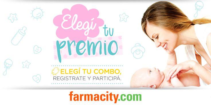 Farmacity.com - Elegí tu combo - Elegí el combo que más te interesa como premio. Sumá más chances para ganar, compartiendo la promo en tus redes sociales.