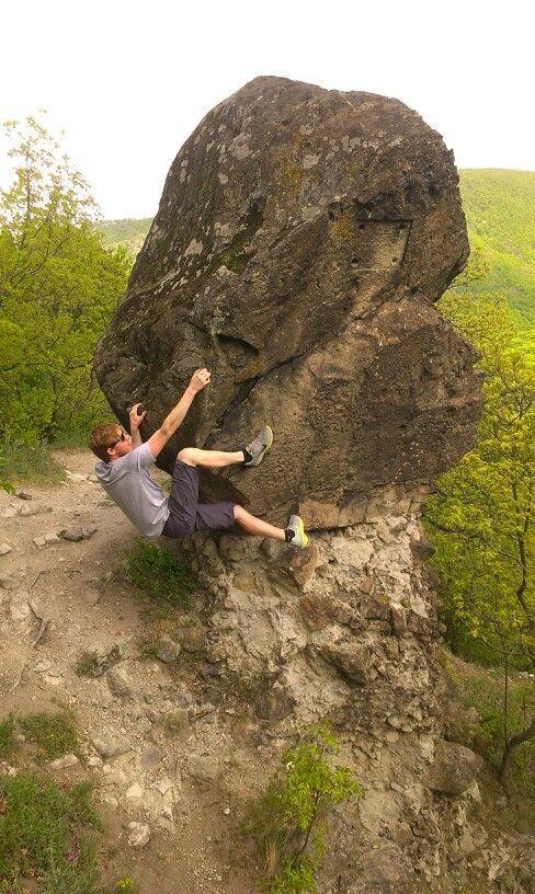 Climbing every rock I meet on the way :-)