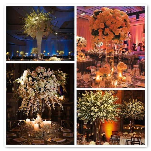 Candle Centerpieces For Weddings | Arrangements that are the center of attention.