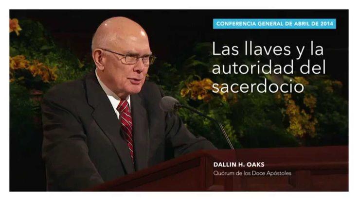 Extracto: Las llaves y la autoridad del sacerdocio—Dallin H. Oaks
