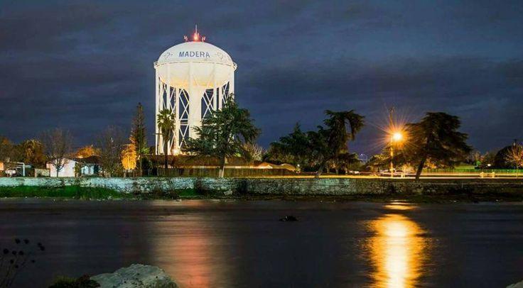 2017 Water Tower Madera Ca Water Tower Tower Skyline