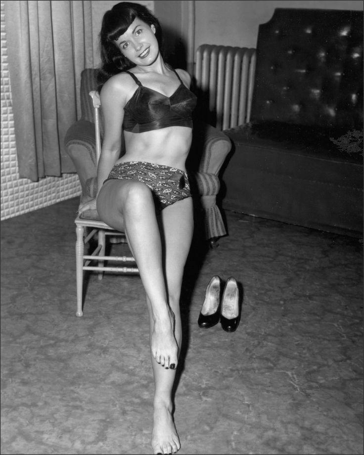 Any Bettie Page Fan Knows That Bettie Had Gorgeous Toes