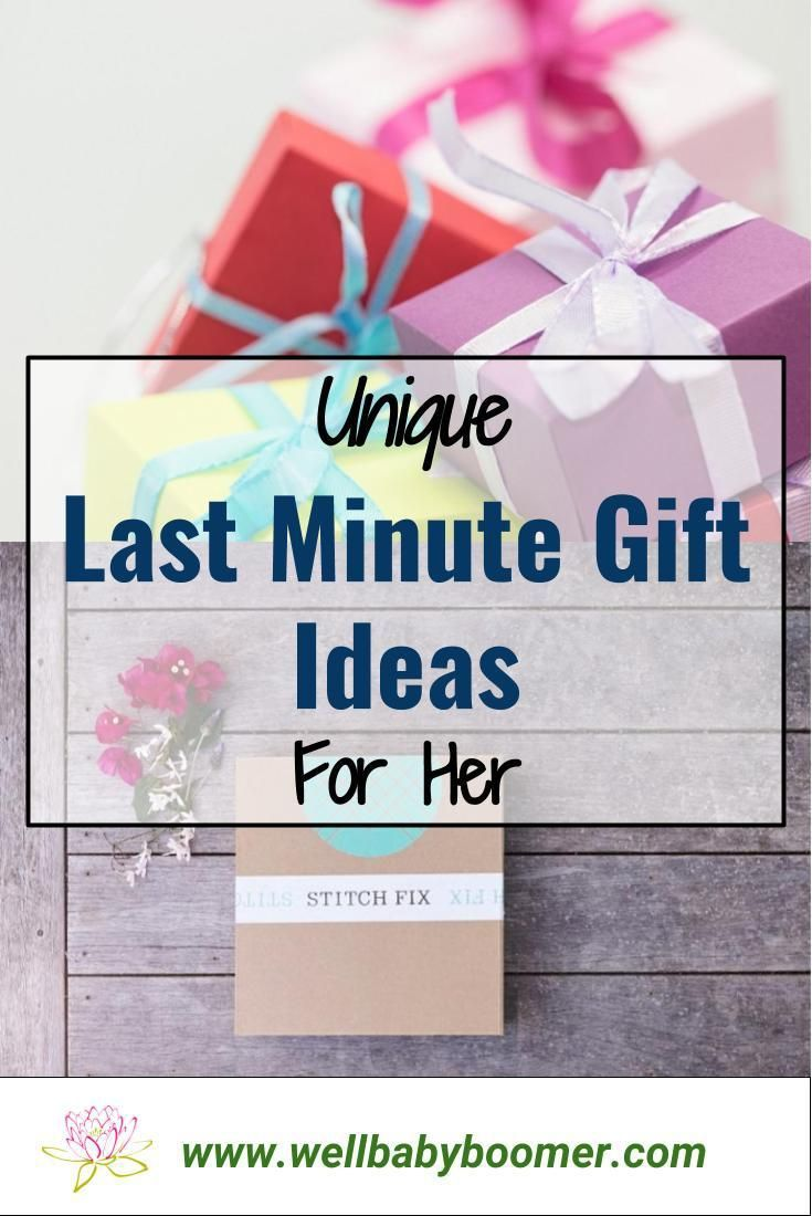 unique last minute gift ideas for her | resources - well baby boomer