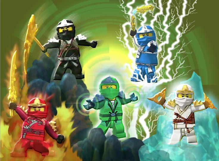 17 best images about ninjago on pinterest lego club the - Lego ninjago team ...
