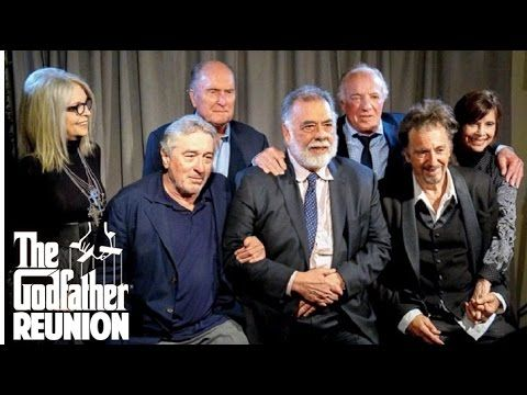 The Godfather Reunion 2017 | Complete Cast from The Godfather 1 & 2 | Tribeca Film Festival - YouTube
