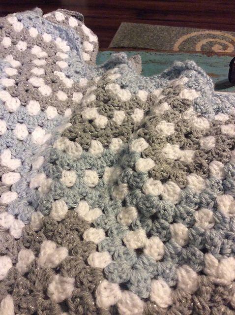 Ripple Waves Baby Blanket Crochet Pattern #crochetideas #crochetlove