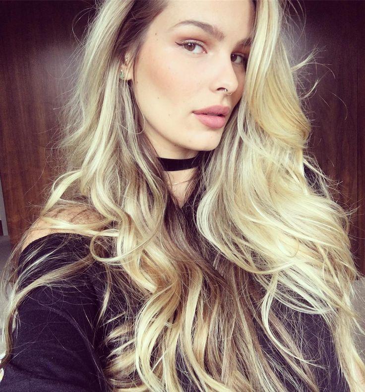 Yasmin Brunet cabelo