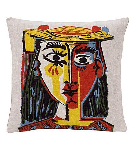 THE CONRAN SHOP Jules Pansu picasso cushion cover 45cm (Multi-coloured