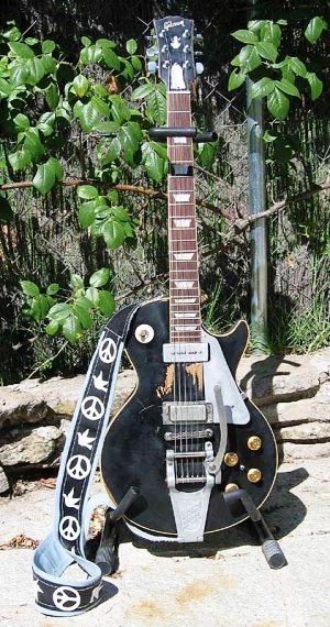 Neil Young has owned this 1953 Gibson Les Paul since obtaining it from musician Jim Messina back in 1969. Old Black, which got its name due to the fact that it began life as a goldtop but was later the recipient of an amateur black paint job,