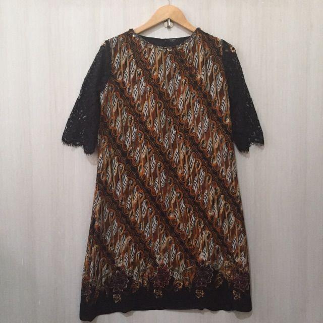 Temukan dan dapatkan Dress/gaun batik  hanya Rp 158.000 di Shopee sekarang juga! http://shopee.co.id/imanggoethnic/293848331 #ShopeeID