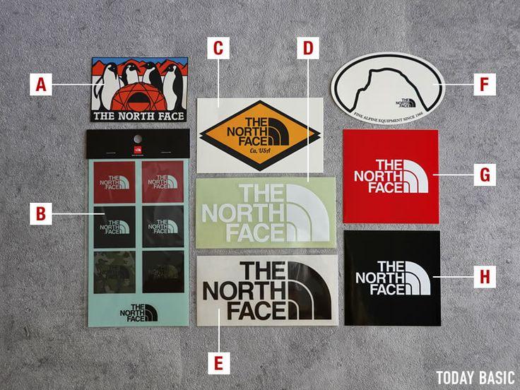 ザノースフェイスのおしゃれなステッカー 使用例や種類をブログでレポート The North Face ステッカー アウトドア テーブル 自作 イラストポスター