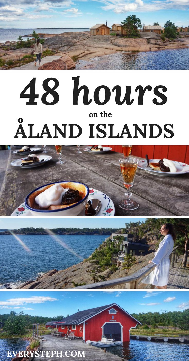 Wellness, Nordic design, and great food: a destination guide for a weekend at the Aland Islands, Finland.