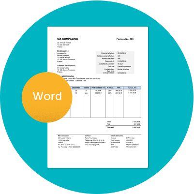 Modèle gratuit de facture à télécharger sous format Word ...