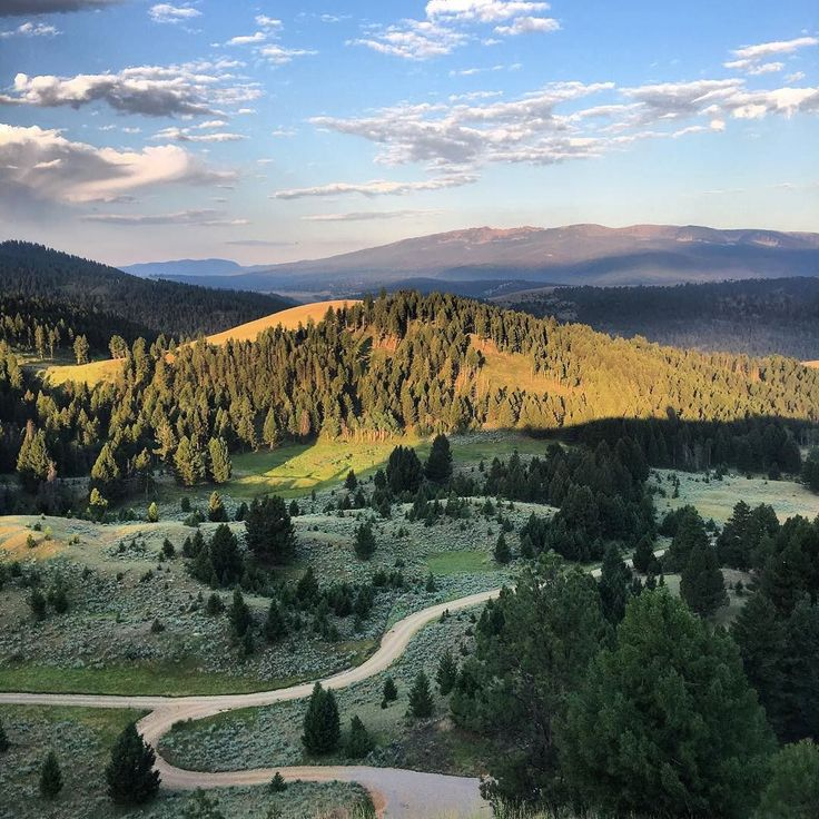 """With 6,600 acres there is plenty of room for many activities including running. Morning miles with just the sound of nature. "" Photo of The Ranch at Rock Creek in Southwest Montana by @justincogley."