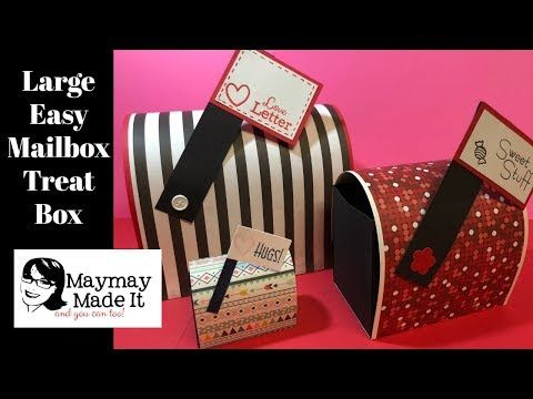 Large Valentine's Day Treat Mailbox – Maymay Made It
