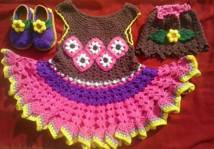 Crochet by me ... lovely dress
