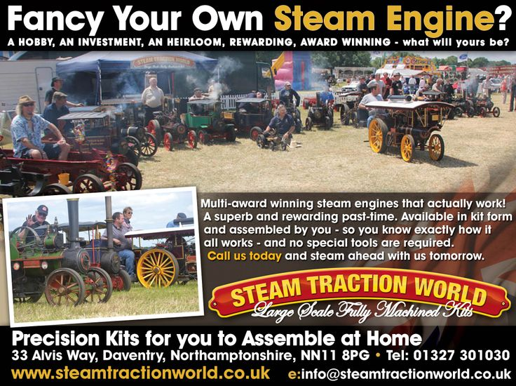 Steam Traction World advert for 'The Oldie' magazine