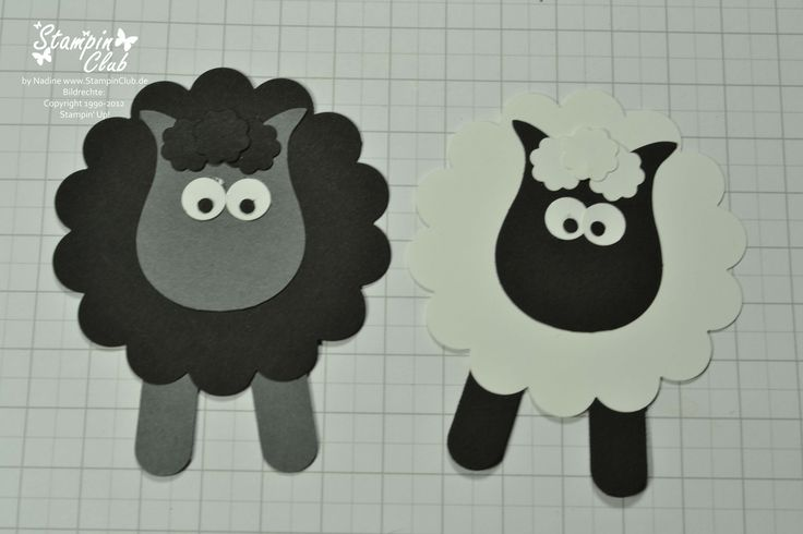 punch art | Punch Art Stampin Up Sheep Schaf Schäfchen