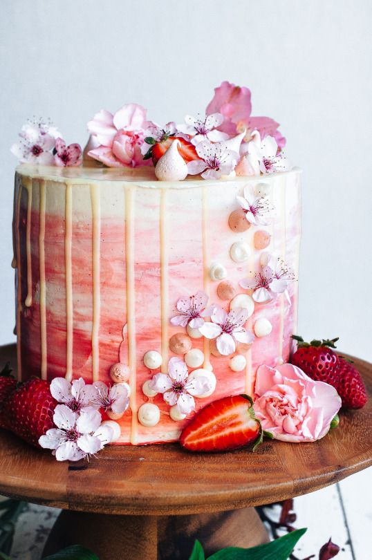 Весенний торт. #spring #cake