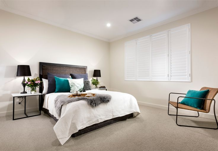 Home Builders Australia | Bedroom | Bedroom Interior Design | Home Styling | Display Home | New Homes | Interior Design