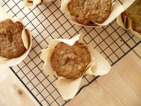 sweet miscellany: Lemon Ginger Zucchini Muffins